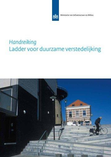 Handreiking Ladder voor duurzame verstedelijking - handreiking bij ...