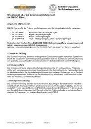 SN EN ISO 9606-2 - LISTEC Schweisstechnik AG