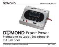 Anleitung zu 3. Wahl DYMOND EXPERT POWER ... - Staufenbiel