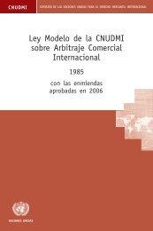 Ley Modelo de la CNUDMI sobre Arbitraje Comercial ... - LegalToday
