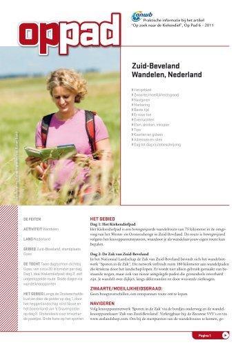 Zuid-beveland wandelen, Nederland - Op Pad
