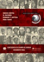 UNIDOS CONTRA EL RACISMO: DIGNIDAD Y JUSTICIA PARA ...