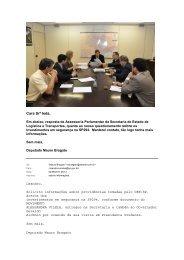 Informacoes email Mauro Bragato - Projeto Alessandra Vilella