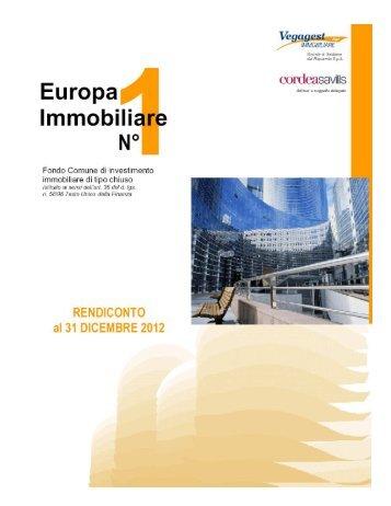 Europa Immobiliare N° 1 - Poste Italiane