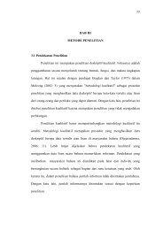 33 BAB III METODE PENELITIAN 3.1 Pendekatan Penelitian ...