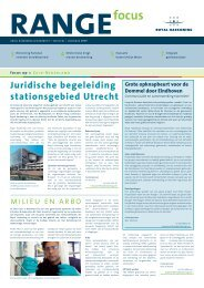 Juridische begeleiding stationsgebied Utrecht - Royal Haskoning
