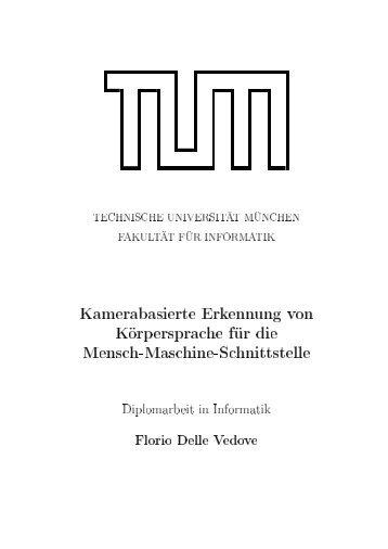 Ausarbeitung - Dr. Matthias Wimmer