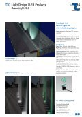 TTC Light Design | LED Products DrainLight 1.0 - TTC Technology - Page 5