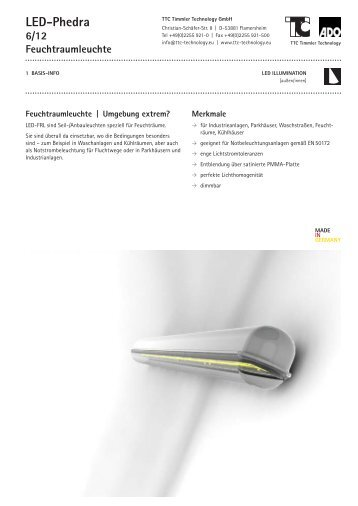 LED-Phedra - TTC Technology