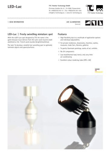 LED-Luc - TTC Technology