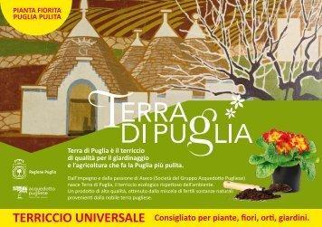 Terra di Puglia è il terriccio di qualità per il giardinaggio e l ... - aseco