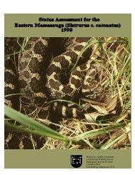 Written by: Jennifer Szymanski U.S.Fish and Wildlife Service ...