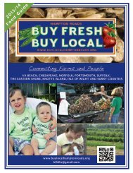 2013/14 Food Guide Connecting Farms and People