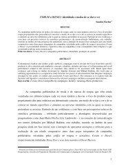FORUM e DIESEL: identidade e modos de se dar a ver Sandra ...