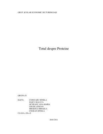Totul despre Proteine - GRUPA IV.pdf