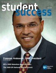 Freeman Hrabowski, UMBC President - Educational Policy Institute