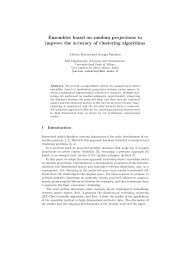 Ensembles based on random projections to improve the accuracy of ...
