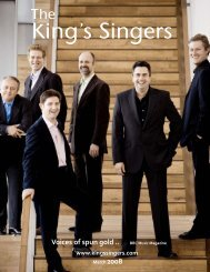 King's Singers EPK March 2008 test - The King's Singers