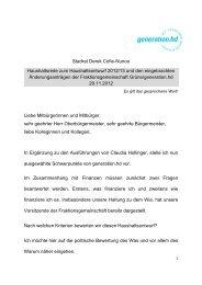 Stadrat Derek Cofie-Nunoo Haushaltsrede zum ... - Stadt Heidelberg