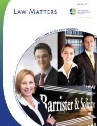 SMALL FIRMS & SOLE PRACTITIONERS