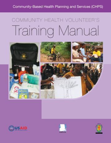 Community Health Volunteer's Training Manual - Population Council
