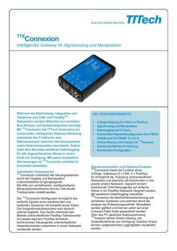 Connexion - TTTech