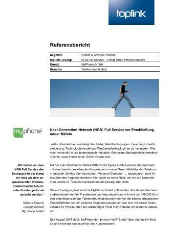 Referenzbericht als PDF - Toplink