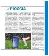 La PIOGGIA ( PDF - 82 kb ) - Ermes Agricoltura