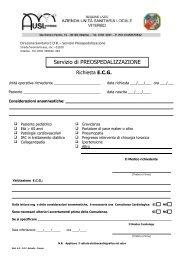 4.0 Richiesta ecg - ASL Viterbo