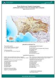 Relazione Idrologica - Difesa del suolo - Regione Campania