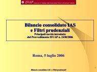 Modelli di bilancio assicurativi - Ania