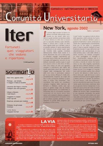 COM UNIVERSITARIA 10-02 - Diocesi di Brescia