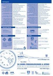 programa cat 2009:programa cientifico 2003 - Agència de Salut ...