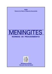 MENINGITES - Direcção-Geral da Saúde