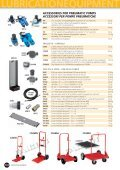 accessories for pneumatic pumps accessori per pompe ... - Faicom - Page 3