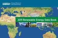 2011 Renewable Energy Data Book