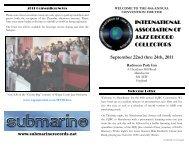 IAJRC 2011 Program Booklet - the IAJRC