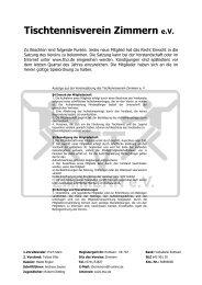 Aufnahmeantrag PDF - TTV Zimmern eV