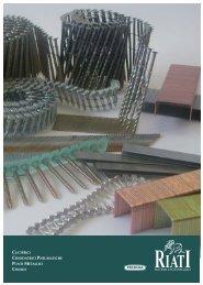 cucitrici - chiodatrici pneumatiche punti metallici ... - FabSolutions
