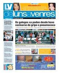 Os galegos xa poden desde hoxe vacinarse de gripe e pneumococo