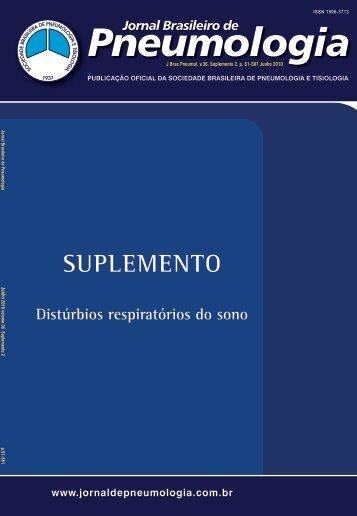 SUPLEMENTO - Jornal Brasileiro de Pneumologia