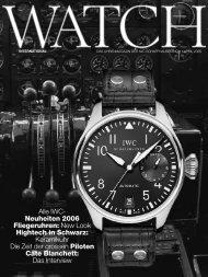 Alle IWC- Neuheiten 2006 Fliegeruhren: New Look ... - Metoxit AG