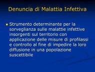 Sergio Foresti: Il certificato / denuncia di malattia infettiva - Omceomb.it