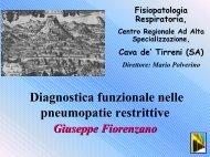 Download presentazione - Pneumonet