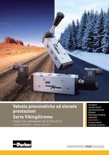 Valvole pneumatiche ad elevate prestazioni Serie ... - Parker