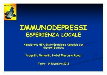 Esperienza locale - Progetto Venerbì