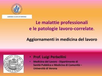 intervento - Dipartimento di Prevenzione - ULSS 20 Verona