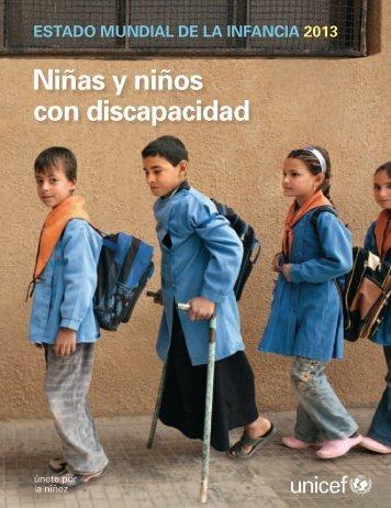 Niñas y niños con discapacidad