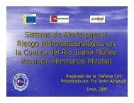Sistema de Alerta para el Riesgo Hidrometeorológico en la Cuenca ...