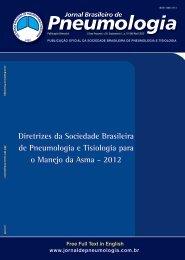 Diretrizes da Sociedade Brasileira de Pneumologia e Tisiologia ...